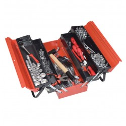 Trusa scule mecanici auto Kronus 133 piese in cutie metalica